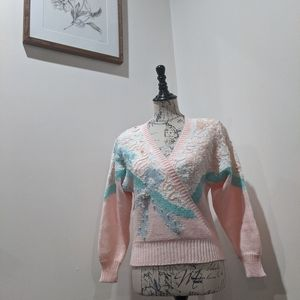 vintage Jaclyn Smith Fairy Kei Kauai sweater